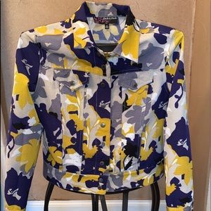 Camouflage, multicolored In style jacket